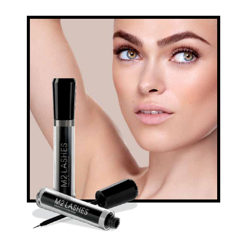 Olvídate de las pestañas postizas con M2 Lashes Eyelash Activating Serum.