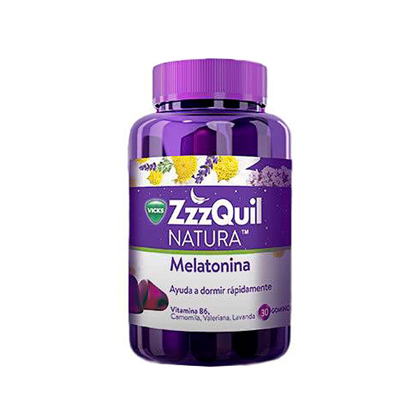 vicks-zzzquil-natura-melatonina-30gominolas